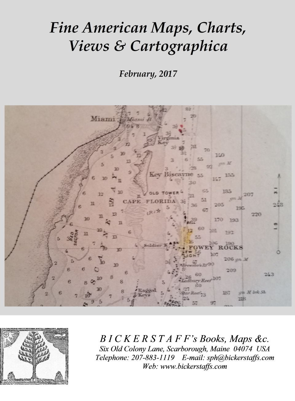 Fine American Maps, Charts, Views & Cartographica -- February, 2017