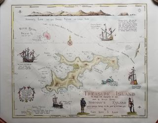 Treasure Island, The English took possession in 1666, called by Dutch Pyrates, Norman's Eyland....