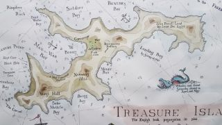 Treasure Island, The English took possession in 1666, called by Dutch Pyrates, Norman's Eyland...