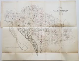 Map of the City of Washington Showing Location of Fatal Cases of Lung Diseases for the Year Ending June 30, 1887 [with] Map of the City of Washington Showing Location of Fatal Cases of Zymotic Diseases for the Year Ending June 30, 1887 [with] Map of the City of Washington, Location of Deaths for the Year ending June 30, 1887.
