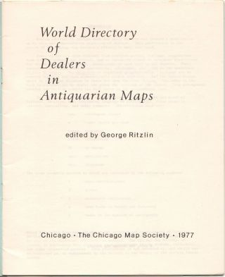 World Directory of Dealers in Antiquarian Maps.