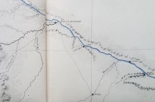 A Report of an Exploration of the Country Lying Between the Missouri River and the Rocky Mountains on the Line of the Kansas and Great Platte Rivers.