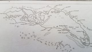 Anegada with its Reefs by R. H. Schomburgh (sic).